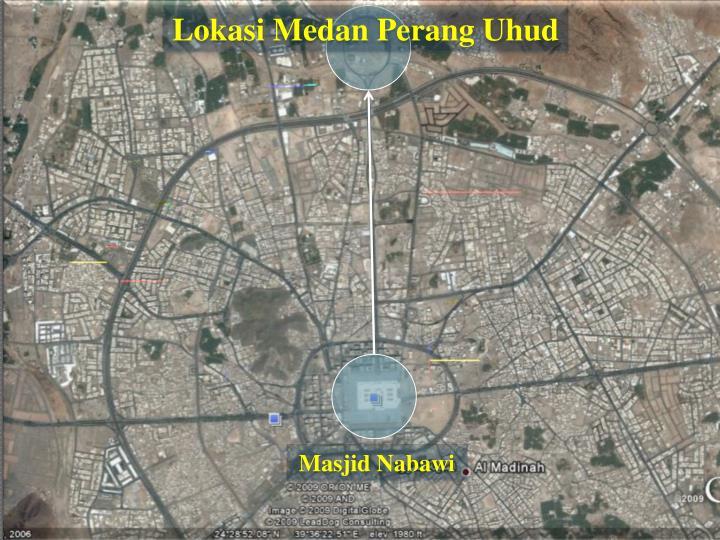 Lokasi Medan Perang Uhud