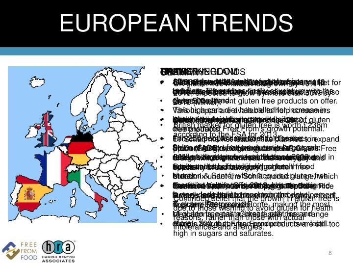 EUROPEAN TRENDS