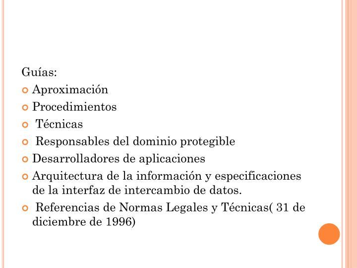 Guías: