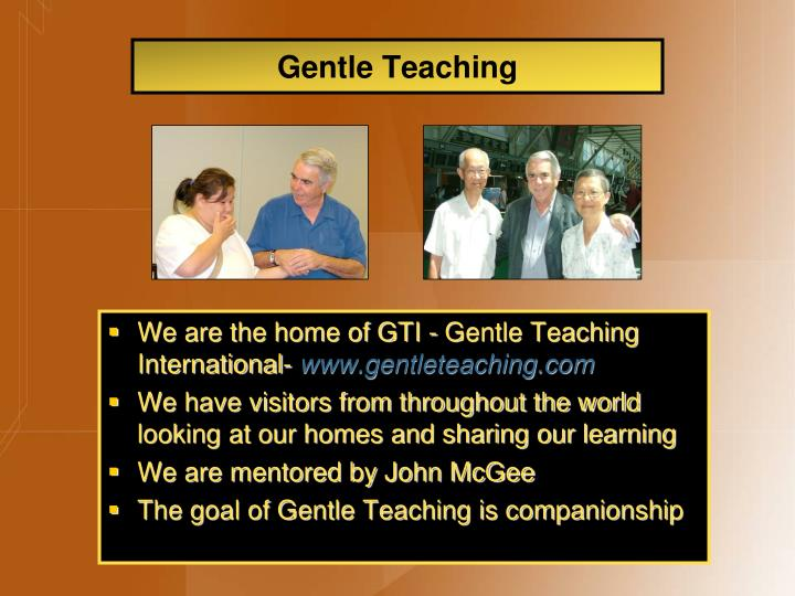Gentle Teaching