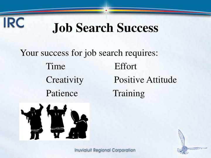 Job Search Success