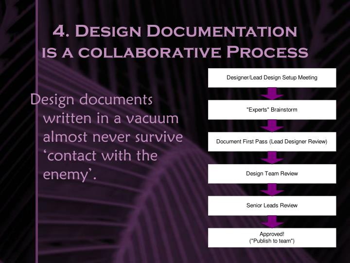 4. Design Documentation