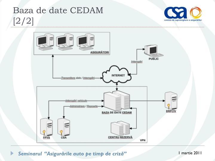 Baza de date CEDAM