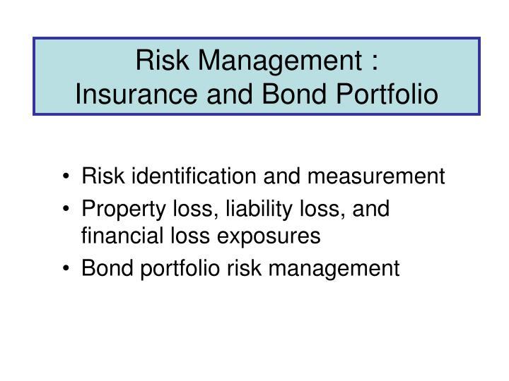 Risk Management :