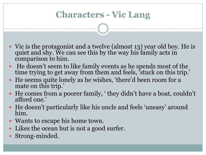Characters - Vic Lang