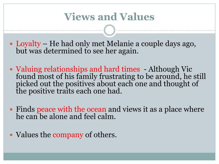 Views and Values