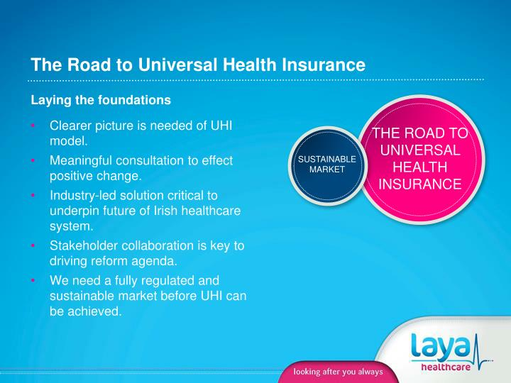 The Road to Universal Health Insurance