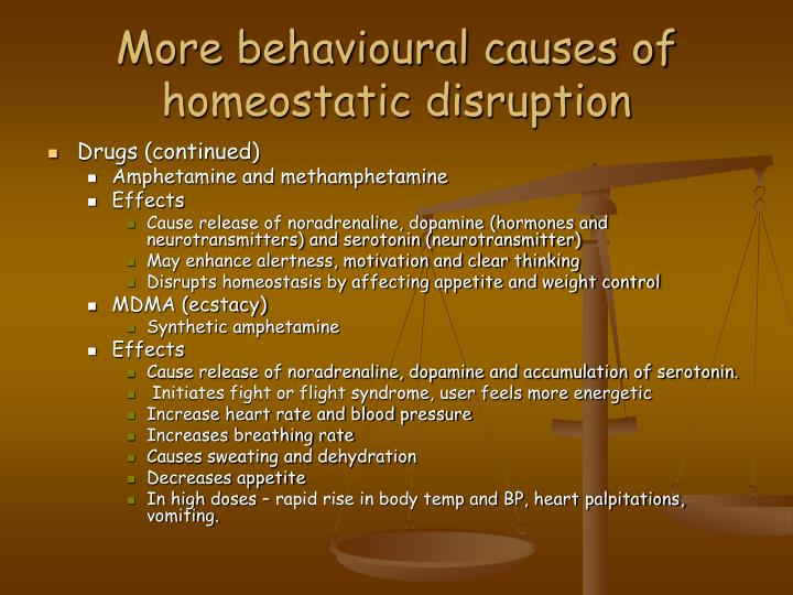 disruptions in homeostasis The concept of homeostasis is the description for when the internal conditions of living organisms remain stable how homeostasis keeps your system in balance.
