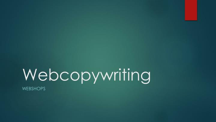 webcopywriting