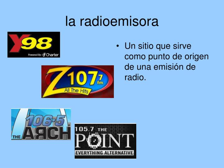 la radioemisora
