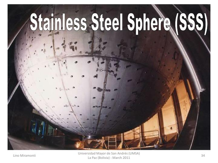 Stainless Steel Sphere (SSS)