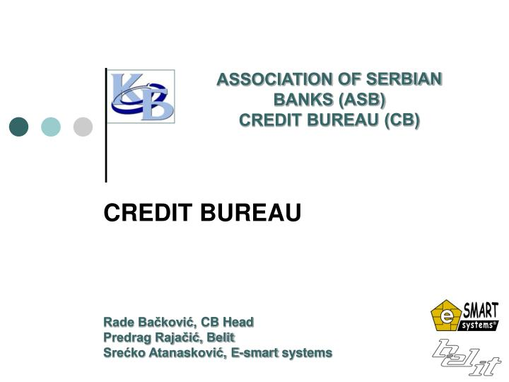 ASSOCIATION OF SERBIAN BANKS