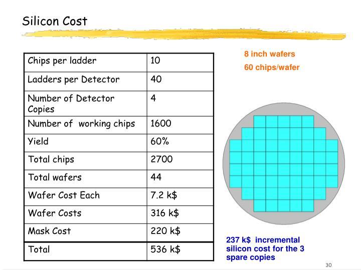 Silicon Cost