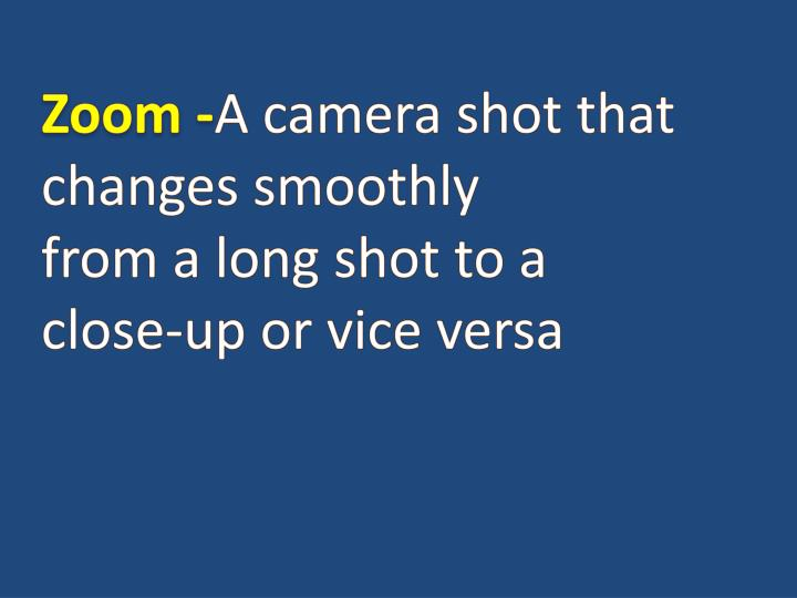 Zoom -