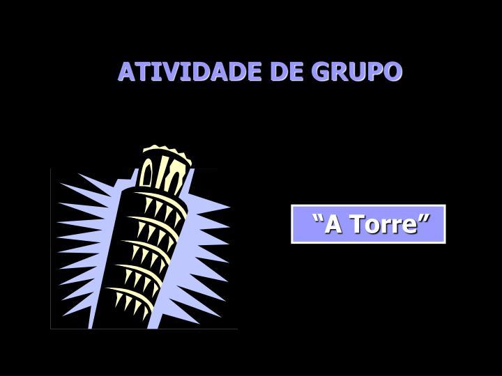 ATIVIDADE DE GRUPO