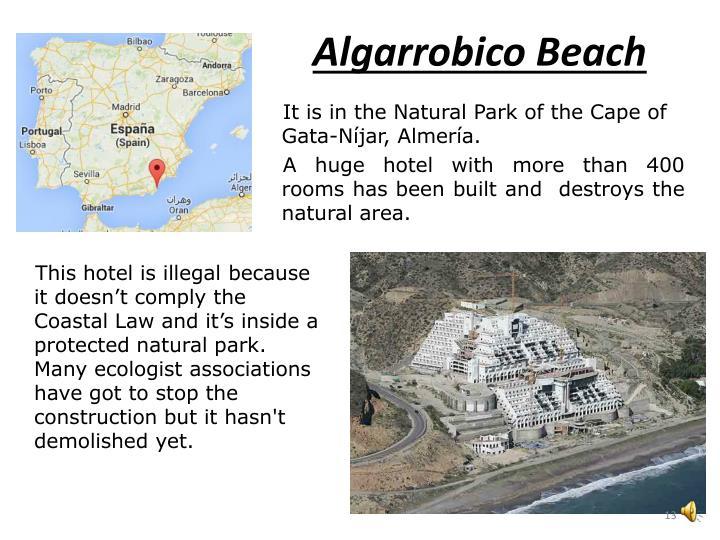Algarrobico Beach