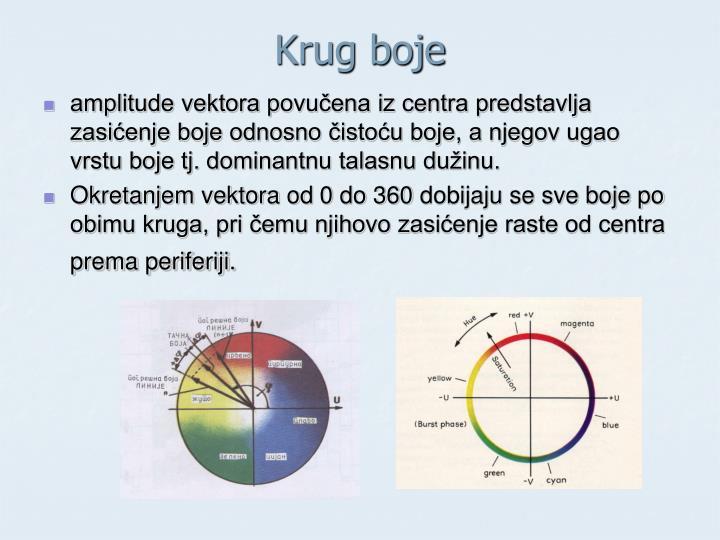 Krug boje