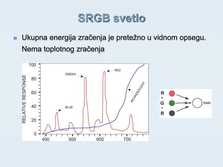 SRGB svetlo