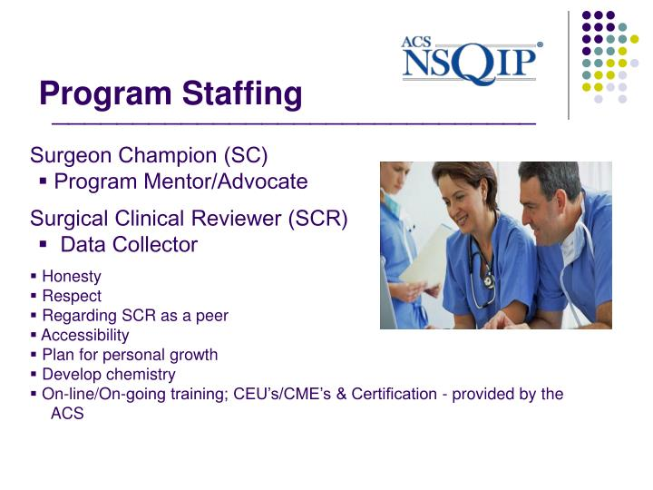 Program Staffing