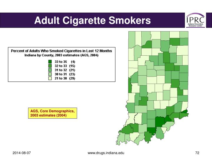 Adult Cigarette Smokers