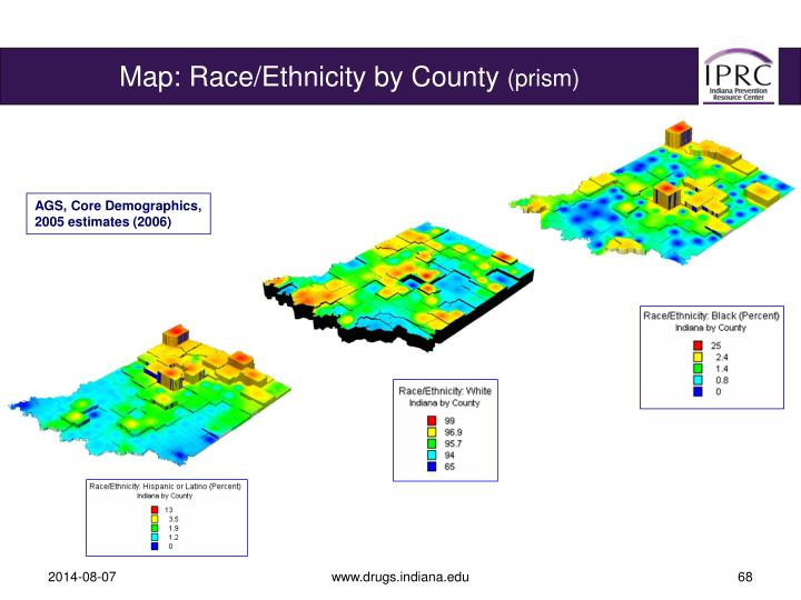 Map: Race/Ethnicity by County