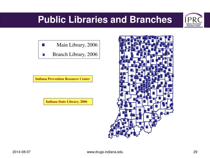 Public Libraries and Branches