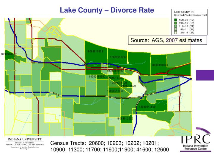 Lake County – Divorce Rate