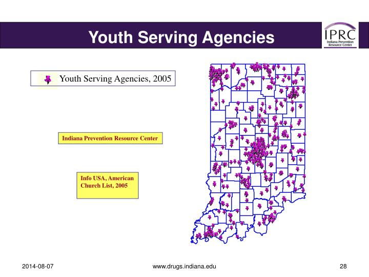 Youth Serving Agencies