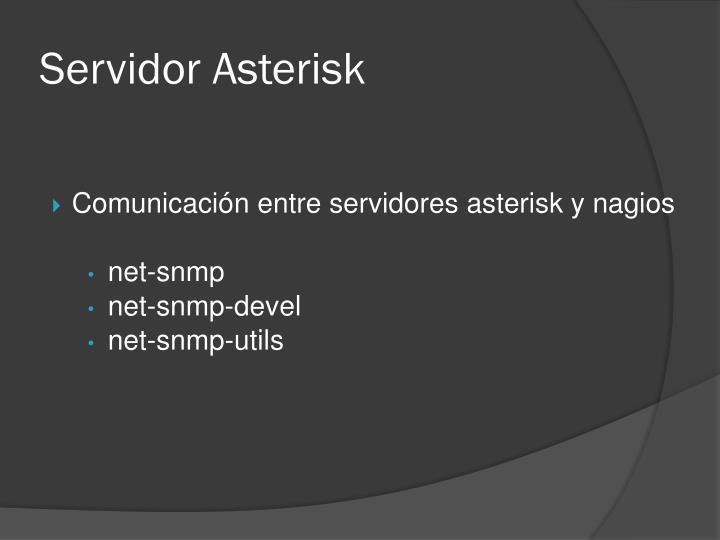 Servidor Asterisk