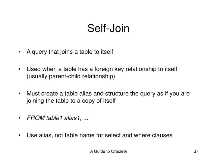 Self-Join