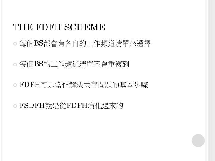 THE FDFH SCHEME
