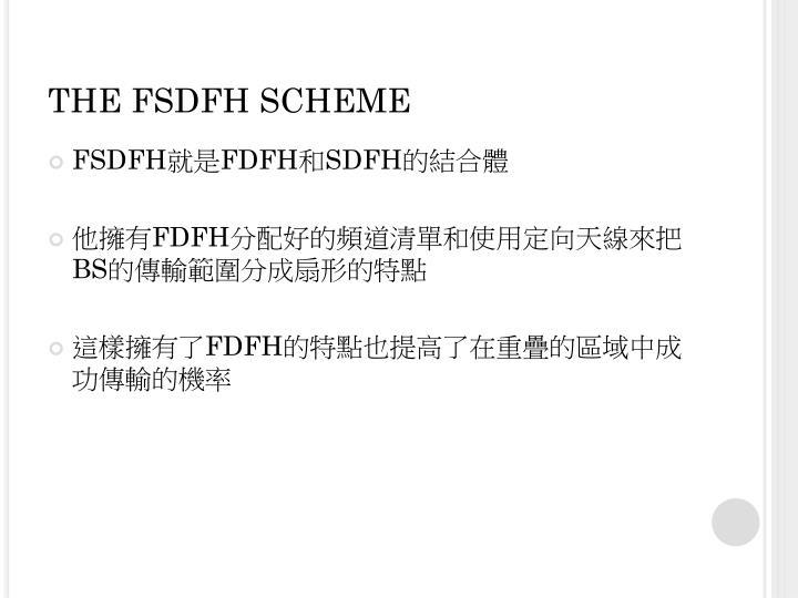THE FSDFH