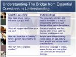 understanding the bridge from essential questions to understanding1