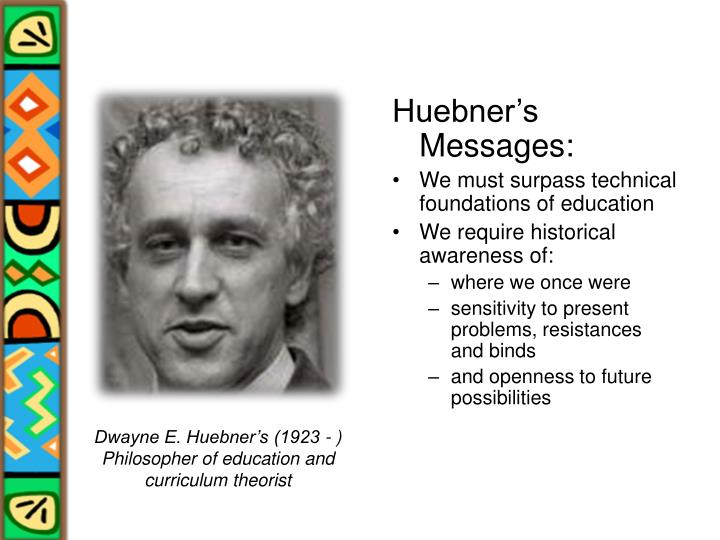Huebner's Messages:
