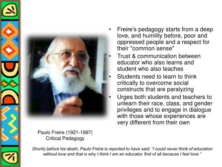 Freire's