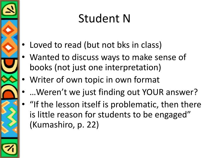 Student N