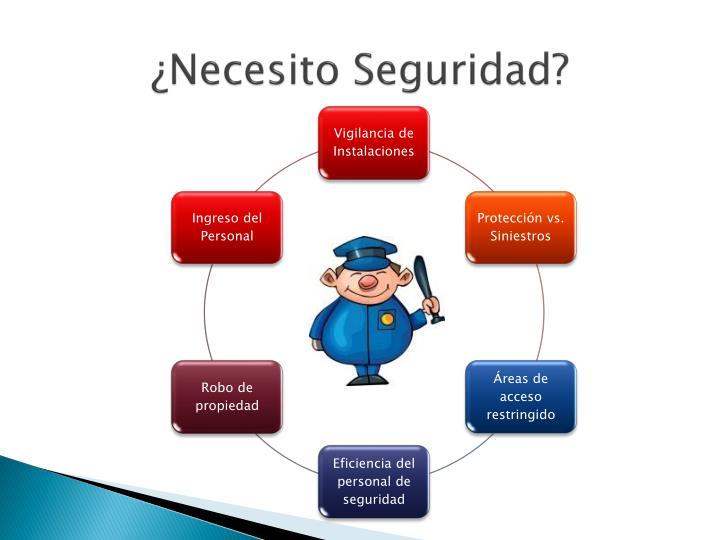 ¿Necesito Seguridad?