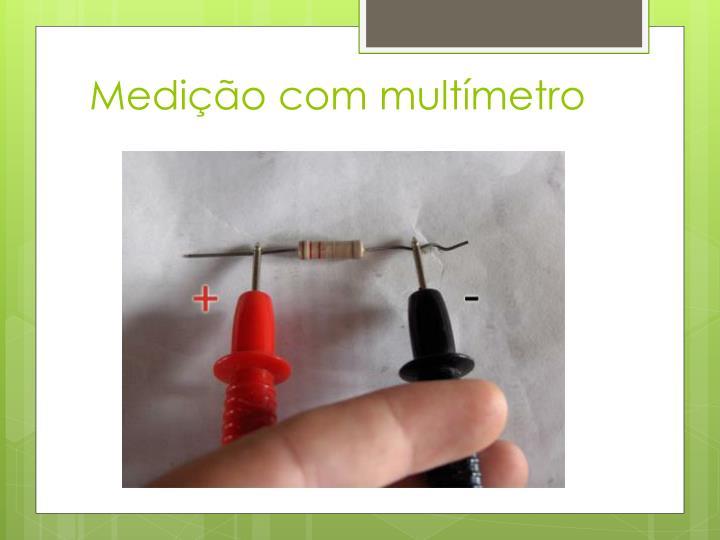 Medição com multímetro