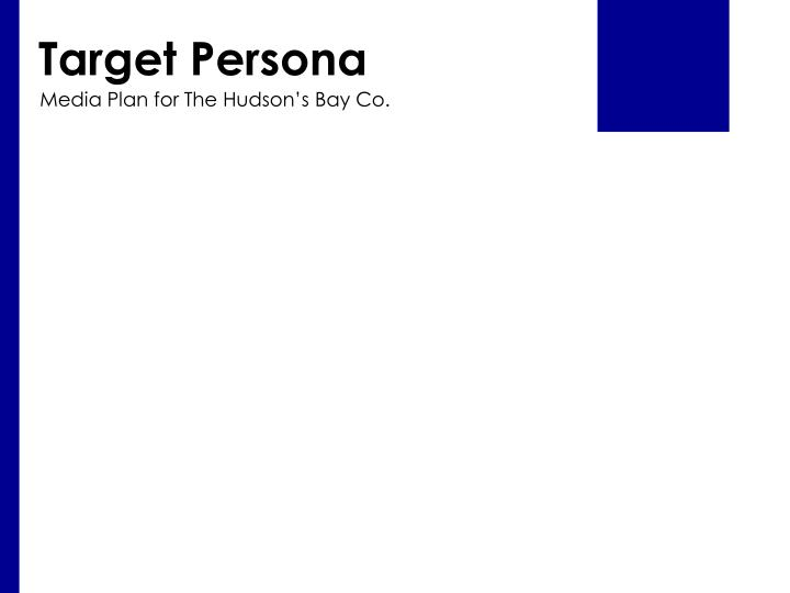 Target Persona