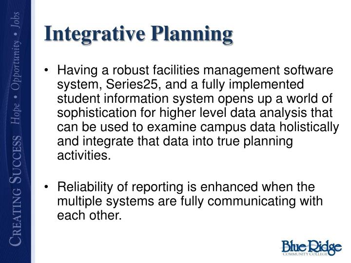 Integrative Planning