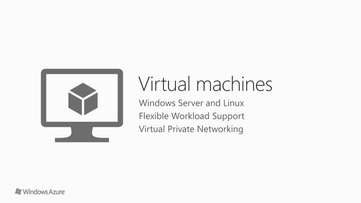 Windows Server and Linux