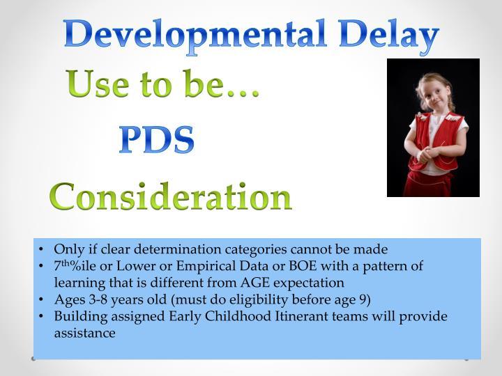 Developmental Delay