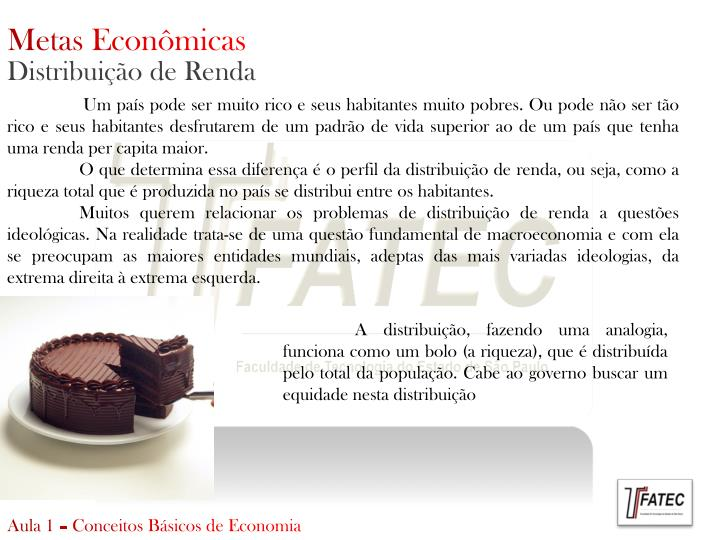 Metas Econômicas