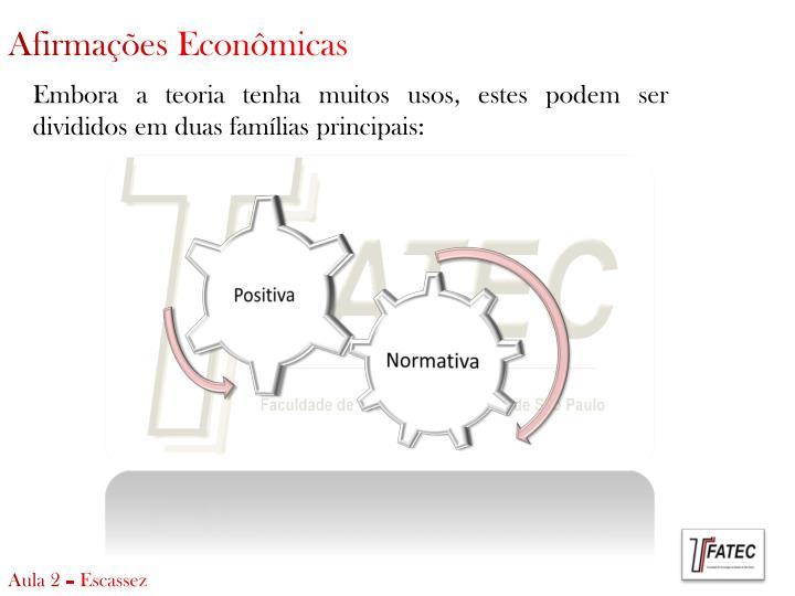 Afirmações Econômicas