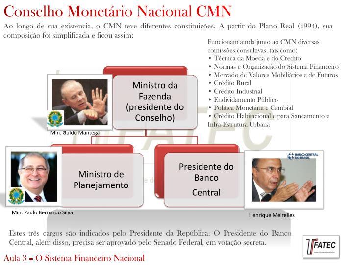 Conselho Monetário Nacional CMN