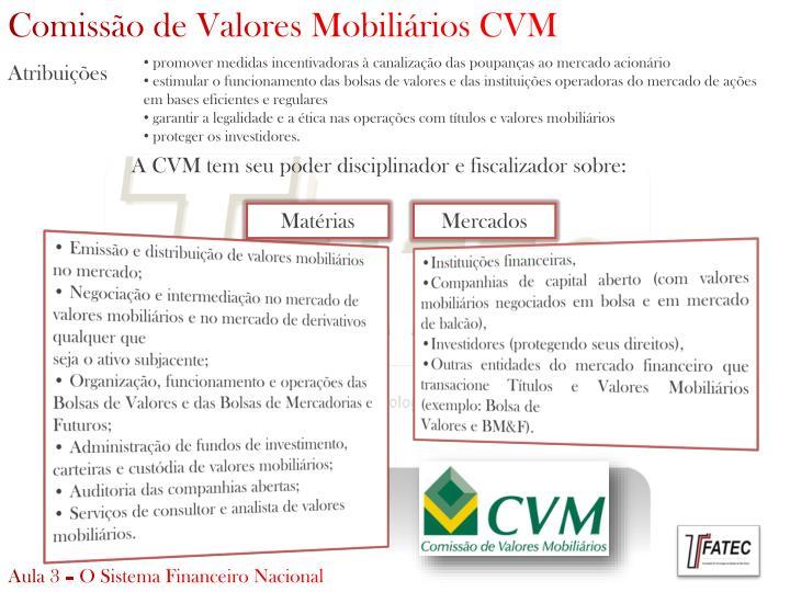 Comissão de Valores Mobiliários CVM