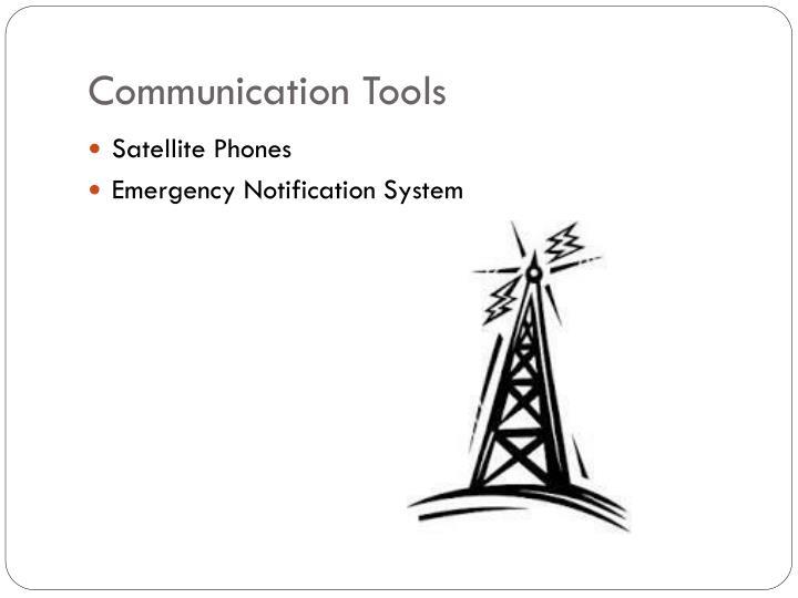 Communication Tools