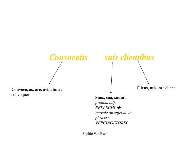Convocatis        suis clientibus