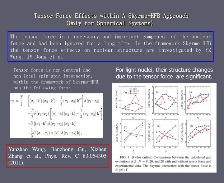 Tensor Force Effects within A Skyrme-HFB Approach
