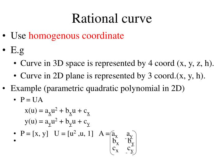 Rational curve